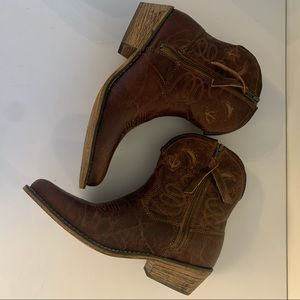 Dingo Womens Western Cowboy Boots Leather Size 7.5